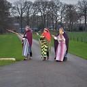 Drie koningen op zoek naar het Kerstkind