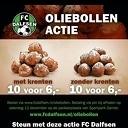 Oliebollen actie FC Dalfsen