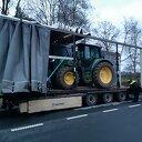 Gestolen tractor bijna op transport