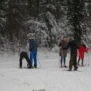 Weer nieuwe beelden van wintersport in Dalfsen