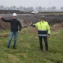 Windturbines komen in onderdelen naar Nieuwleusen