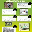 Sports4kids buitenactiviteiten in april