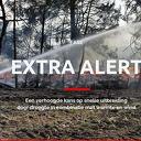 Verhoogde kans op natuurbrand