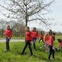 SV Dalfsen Handbal werkt mee met het project 'Schone Rivieren'