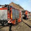 Kelderbrand Parallelstraat.