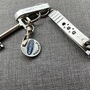 Sleutel met hanger en nagelknipper gevonden