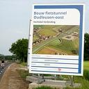 Fietstunnels bij Oudleusen (voortgang)