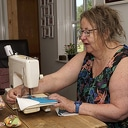 Wie heeft katoenen stoffen voor Saskia Vraets voor quilts