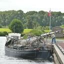 De Elbe een schip ''Sondermodel'' doet Dalfsen aan