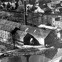 De oude fabriek en Dorpsstraat