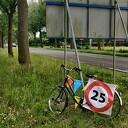 Halve sarah fiets kwijt