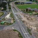 Live beelden vanaf de fietstunnel Dennenkamp Oudleusen