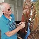 Expositie schilderijen Wim Schrijver in het gemeentehuis