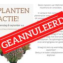 Bericht over Plantenactie