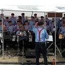 De Stuwzangers tijdens de Vechtdal Fietsvierdaagse