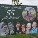 55 jaar getrouwd: Roelie en Rutger