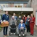 Bewoners Rosengearde verrast tijdens Nationale Groente- en Fruitdag
