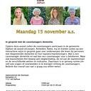 Alzheimercafé 15 november 2022
